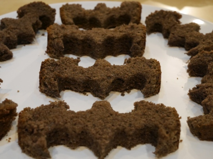 Chocolate Sponge Batmans