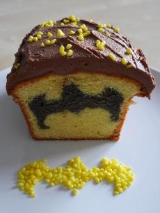 Hidden Batman Cake
