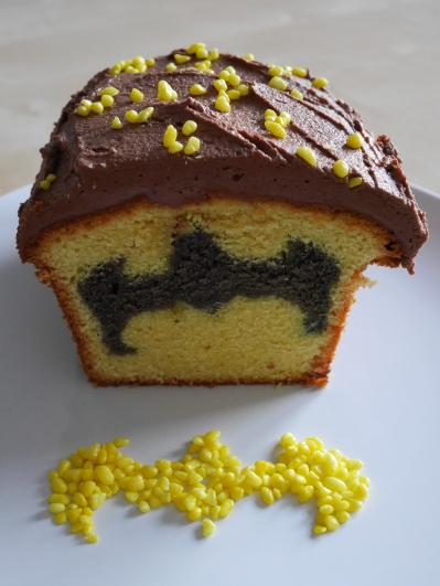 Hidden Batman Cake