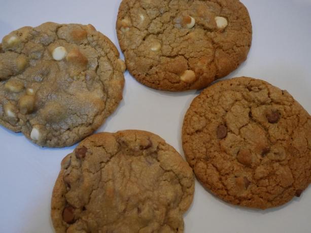 7 min vs. 10 min cookies